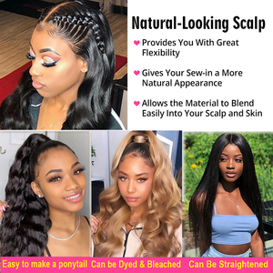 Image 4 - 13x4 Lace Front Human Hair Wigs Brazilian Body Wave Lace Wig With Baby Hair Glueless Beaudiva Remy Human Hair Lace Closure Wigs