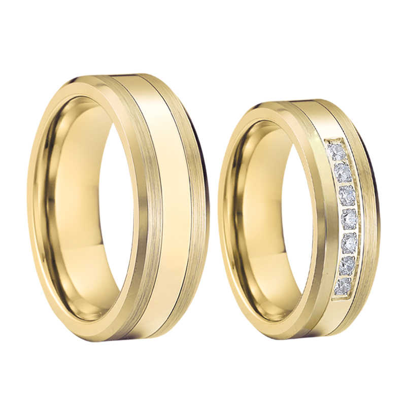 Love Alliance Wedding Band Anniversary Ring Men Yellow Rose Gold