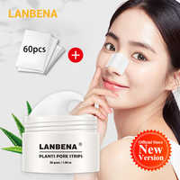 LANBENA Blackhead Remover Nose Mask Clean Pore Strip New Style Black Mask Peeling Acne Treatment Unisex Deep Cleansing Skin Care