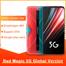 Originele Nubia Red Magic 5G Gaming Telefoon Snapdragon 865 8Gb 128Gb 144Hz Refresh Rate 64MP Sony triple Camera Smartphone 5G
