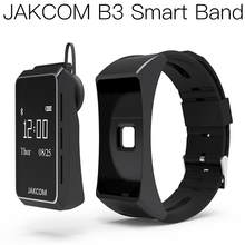 JAKCOM B3 Smart Watch Best gift with thermometre frontal watch serie 5 band 4 galaxy active smart ip68 android(China)