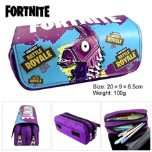 купить cartoon game surrounding Boy Cartoon Pencil Case School Children Student Pen Bag Kids girls anime Large Capacity Purse Wallet дешево