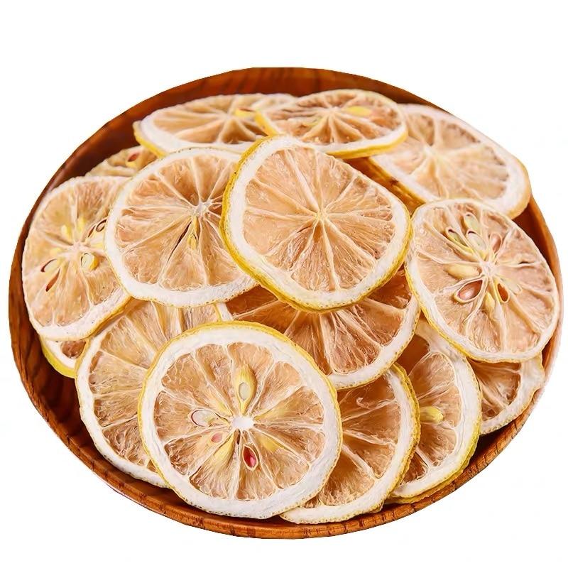 250g 2020 Chinese Dry Lemon Slice Flower Tea Natural Organic Lemon Tea Green Food For Health Care Lose Weight fruit Tea 2