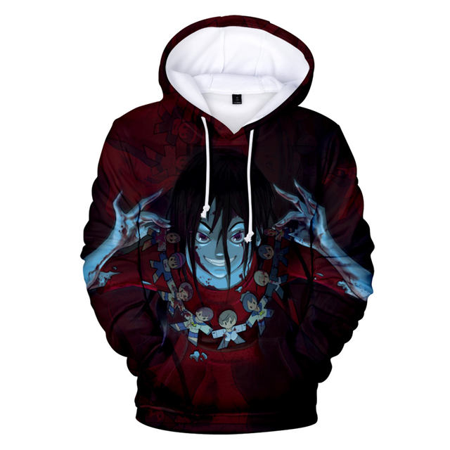 CORPSE PARTY BLOOD DRIVE 3D THEMED HOODIE (10 VARIAN)