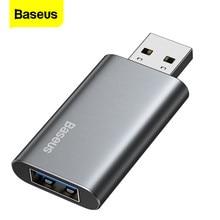 Baseus araç USB Flash sürücü 16GB 32GB 64GB Pendrive U Disk USB 3.0 Memory Stick 2 in 1 şarj cihazı bilgisayar için kalem sürücü flash sürücü