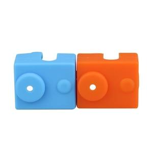 1 шт. защитный силиконовый чехол для E3D V6 с подогревом блок теплый чехол для Reprap 3D части принтера