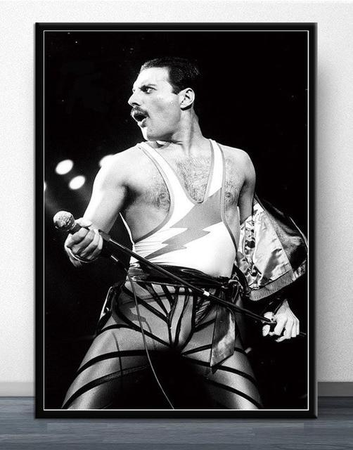 Freddie Mercury Wembley Poster 8
