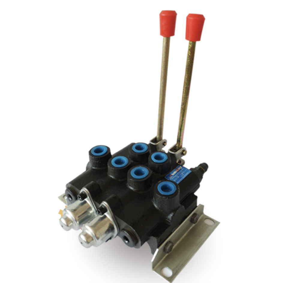 Professional Forklift Hydraulic Directional Valve Manual Directional Valve Small Two-way Distributor Lift Valve