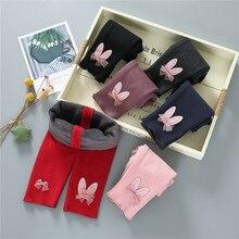 Теплые штаны для малышей Зимние флисовые трикотажные штаны для новорожденных детские леггинсы для детей от 0 до 2 лет, штаны для малышей