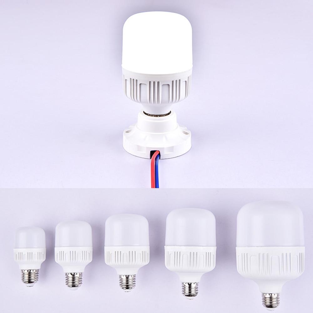 LEADLY LED Light E27 LED Bulb AC 220V 20W 30W 40W 50W 15W 10W 5W Lampada LED Spotlight Table Lamp Lampada LED Light Bulb
