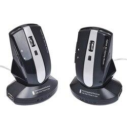 Bezprzewodowa mysz dla graczy mysz do gier akumulator 1600 myszy DPI 2.4GH mysz optyczna z podstawą do laptopa Overwatch L0523