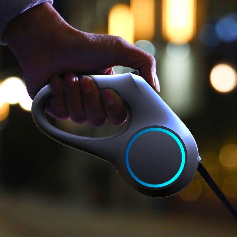 Petkit, автоматический поводок для домашних животных, выдвижной светодиодный поводок для домашних животных, светильник, светящийся безопасный поводок для собак, маленький средний Hondenriem - 2