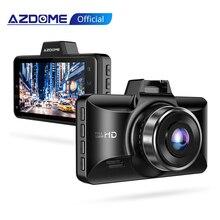 Azdome fhd 1080 1080pダッシュカム3インチdvr車の運転レコーダーナイトビジョン、公園モニター、gセンサー、ループ録画ユーバーM01プロ