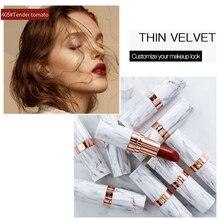FlashMoment Waterproof Makeup Lipstick Batom Matte Make Up Professional Lips Tint Long Lasting Lip Stick Women Cosmetic