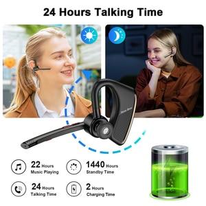 Image 3 - New Bee Bluetooth Earphones Wholesale M50 5PCS Wireless Headphones with Dual Mic Earphone Hands free Headset