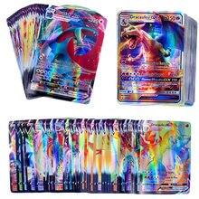 50-300 sztuk francuski Pokemon karty TAG zespół GX V MAX VMAX Shining gra w karty bitwa Carte gra handlowa dzieci Francaise Toy
