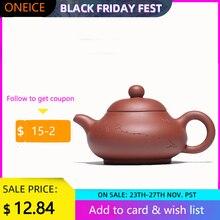 Yixing Zish סגול חימר תה קומקום הסקופ אבן סיר זישה הסיני יצרנית מלא בעבודת יד Drinkware חליפת עבור לשתות Darktea