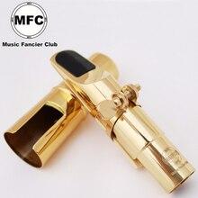 MFC тенор сопрано альт саксофон металлический мундштук электрофорез золотые части и аксессуары T01