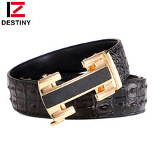 DESTINY New Men Belts High Quality Male Genuine Leather Stra