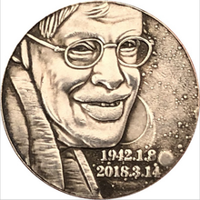 American buffalo hobo coin scientist Hawking coin gift scientist Hawking coin souvenir lucky coin