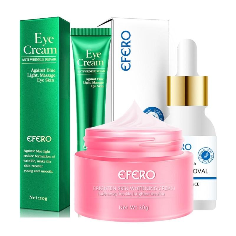 Face Cream Remove Freckle Whitening Skin Repair Melasma Acne Dark Spots Freckle Cream Moisturizing Face Serum Collagen Eye Cream