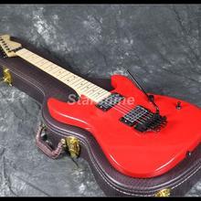 2019 Hot Sell Chav Electric Guitar Z-WW1 FR Bridge Red Color Maple Neck Standard Size цена в Москве и Питере