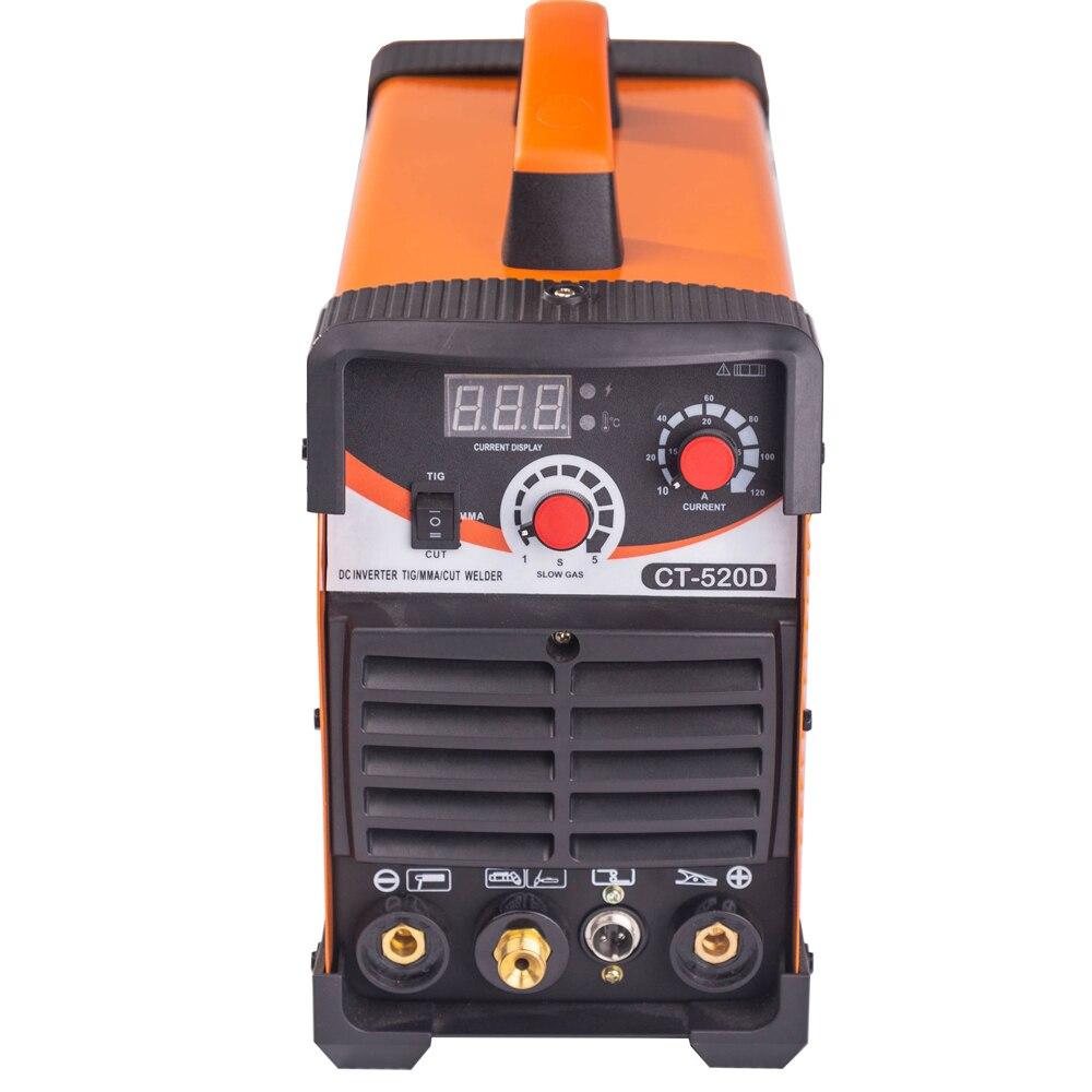 DANIU CT520D 3 in 1 TIG ARC Schweiß Maschine Plasma Cutter Stick-Schweißer 110 V-220 V Maquina de Soldar