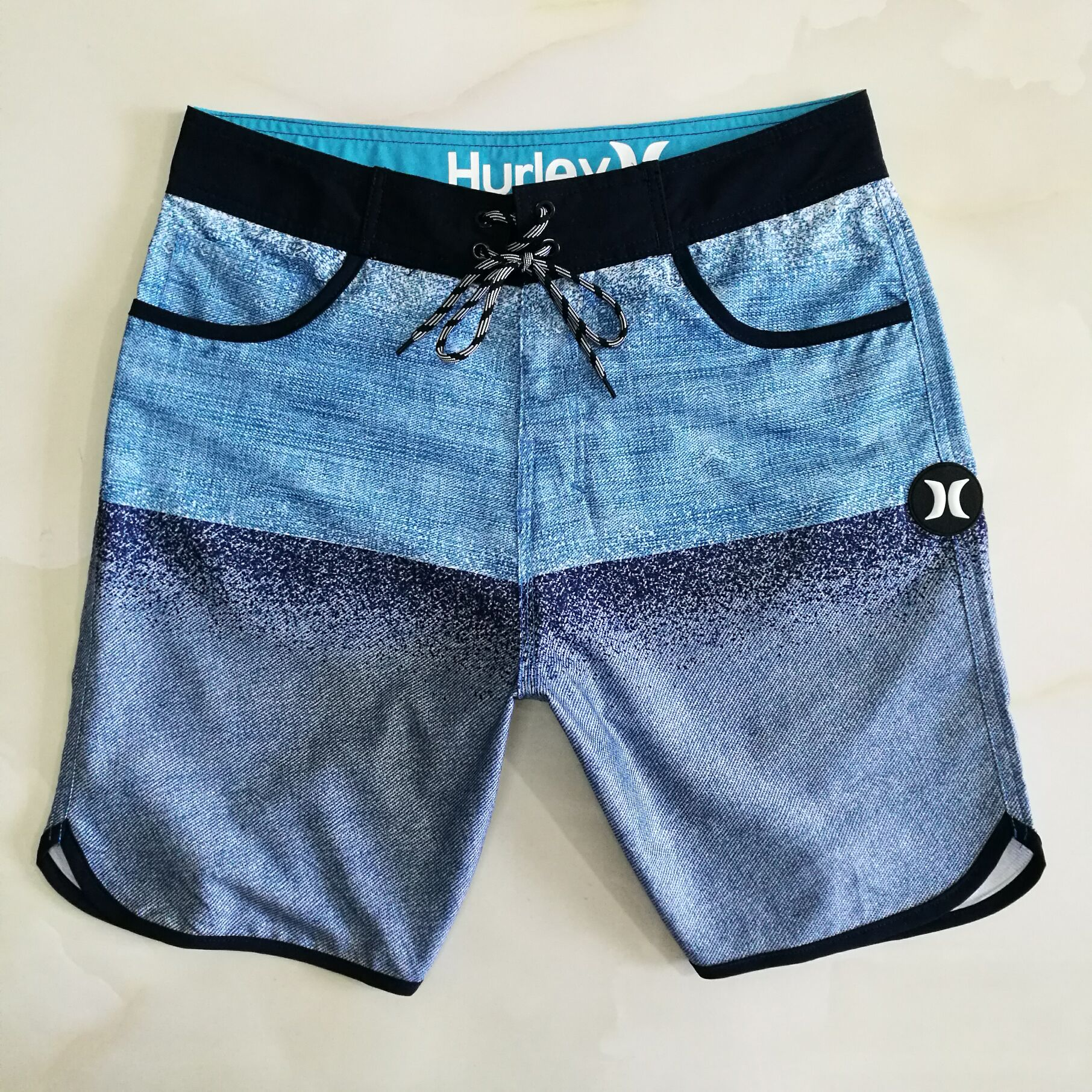 Hurley Men's Trousers Summer New Style Casual Pin Pants Men Beach-Shorts Quick-Drying Loose-Fit Men's