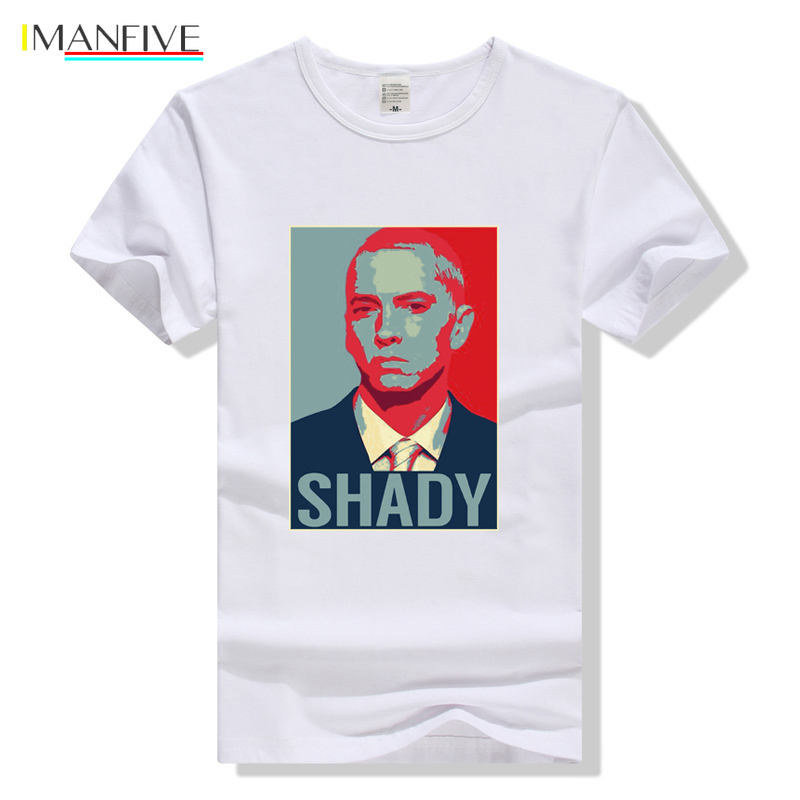 Eminem T Shirt Hip Hop Tshirt HipHop Tee Shirt Homme Men Women Summer Top Clothing T Shirt Slim Shady Streetwear White in T Shirts from Men 39 s Clothing