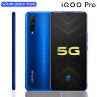 vivo Celular iQOO Pro 5G Smartphone Móvil Android 9,0 12GB 128GB Snapdragon 855 Plus 6,41 Super teléfono Inteligente Carga Rápida NFC Super AMOLED