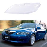 New Car Headlight Glass Cover Clear Automobile Left Right Headlamp Head Light Lens Covers Styling For Mazda 6 2003-2008 TSLM1 3