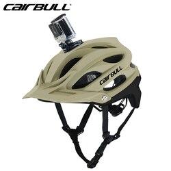 Nowy rower kask mtb do roweru szosowego i górskiego kask bezpieczeństwa Ultralight oddychający kask rowerowy kamera sportowa można zainstalować