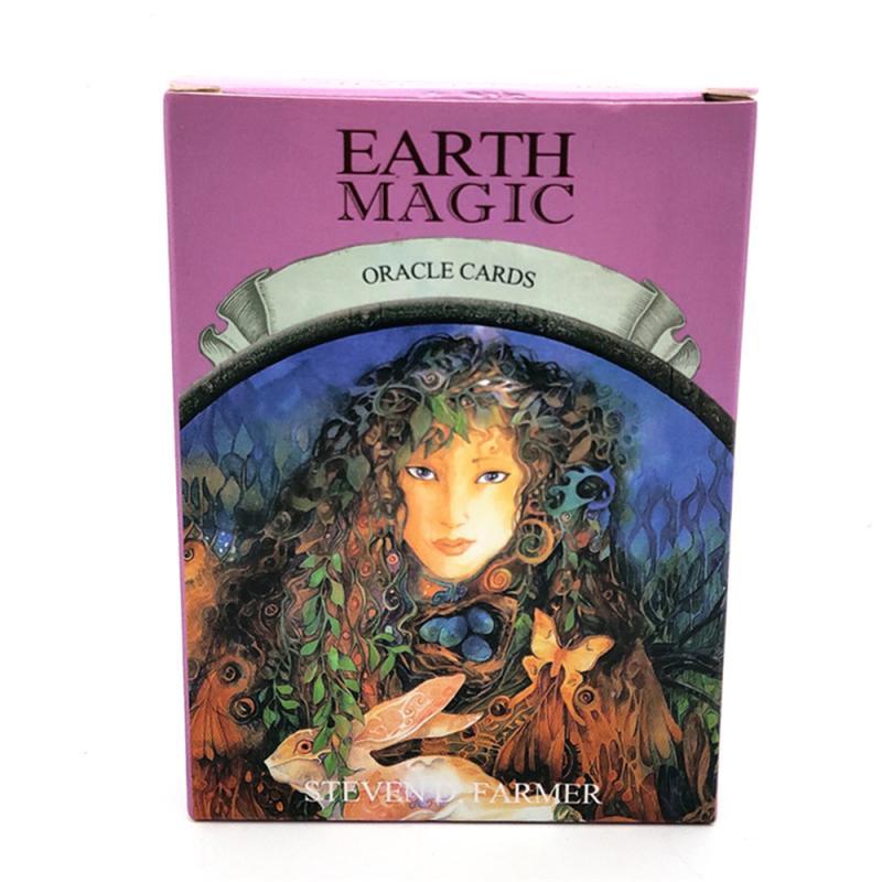 48 карт английская версия Earth Magic Oracle карты настольная игра чтение Fate Tarot карты игра для личного использования
