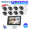 MISECU 3MP WiFi CCTV System 12 inch Monitor NVR Security CCTV Camera Two Way Audio Outdoor Night Vision  Video Surveillance Kit