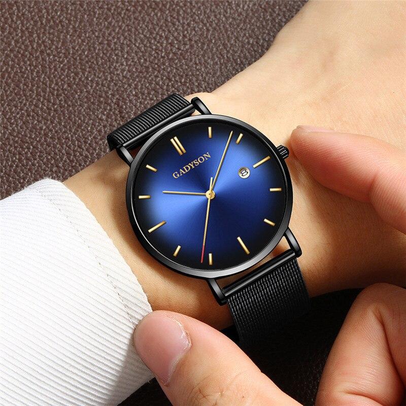 Hot Sale Fashion Men Watch Women 2019 Calendar Famous Wrist Watch Unique Male Clock Mens Quartz Wristwatches Luxury  And Simple