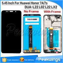 цена на 5.45''  for Huawei Honor 7A LCD Display Touch Screen Digitizer 7S DUA-L22 L02 L22 LX2 For Huawei Honor 7S LCD Screen With Frame