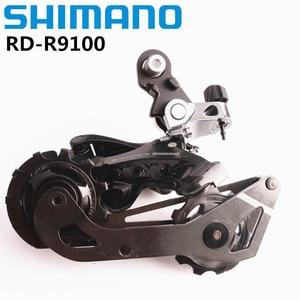 Image 1 - Shimano Dura Ace R9100 RD R9100 piezas de bicicleta de carretera, desviador trasero de 11 velocidades SS Original R9100
