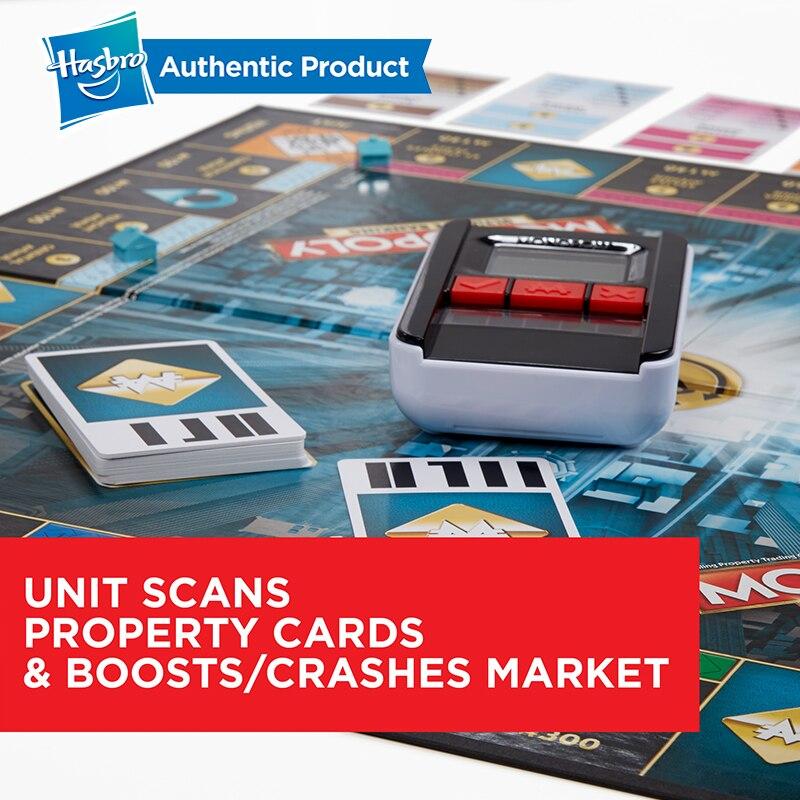 Hasbro, el juego de monopolio electrónico, juegos para adultos, familia, fanáticos populares, actualización de la banca electrónica - 5