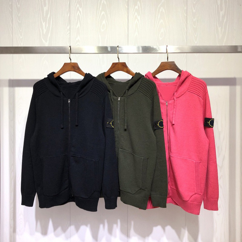 2019 Best Quality 1:1 Compass Logo Patched Women Men Hooded Sweater Hiphop Streetwear Men Casual Sweater Hoody