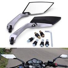 Espejos retrovisores laterales para motocicleta, para Suzuki GSF600 gsf 600 650 S Bandit sv 1000 650 SV650, color negro, 2 uds.