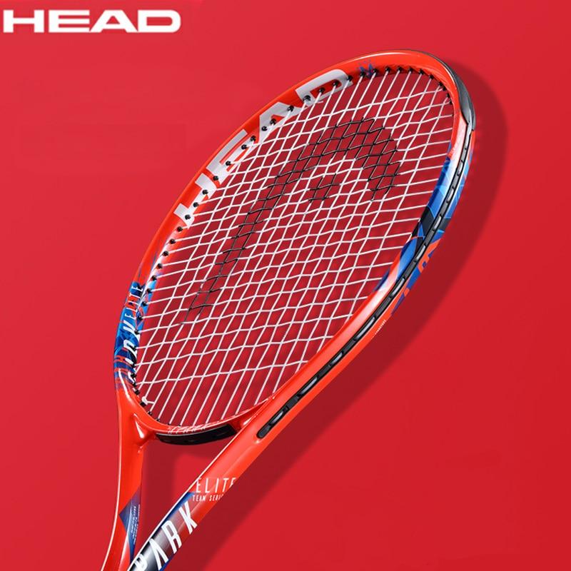 HEAD Tennis Racket Carbon Aluminum Alloy Women Men Raqueta De Tenis Tenis Racquet Set String With Bag Hand Glue Match Training 1