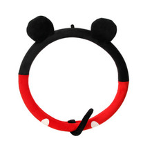 Cartoon steering wheel cover creative cute car gloves Plush steering wheel cover Mickey Mouse Steering Wheel Cover donyummyjo creative cute cartoon car steering wheel cover winter plush back cat women girls wheel covers car styling decorations