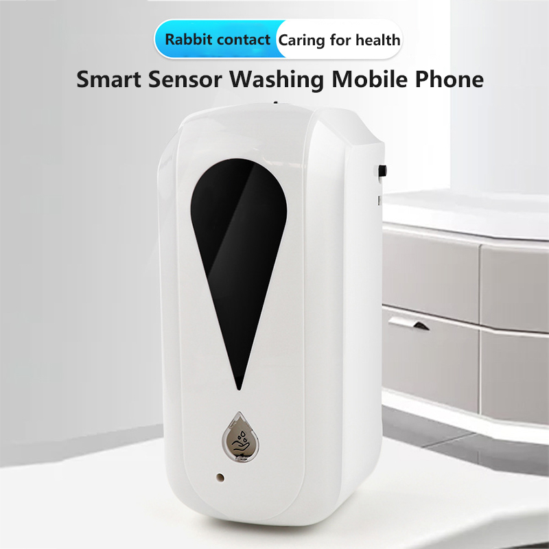 1200ML Automatic Sensor Hand Disinfection Machine Touchless Wall-mounted Spray Hand Cleaner Liquid Soap Dispensers