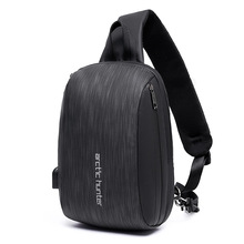 New Style Mens Chest Pack Shoulder Bag Travel Large Capacity Multi-functional Fashion Korean-style MENS