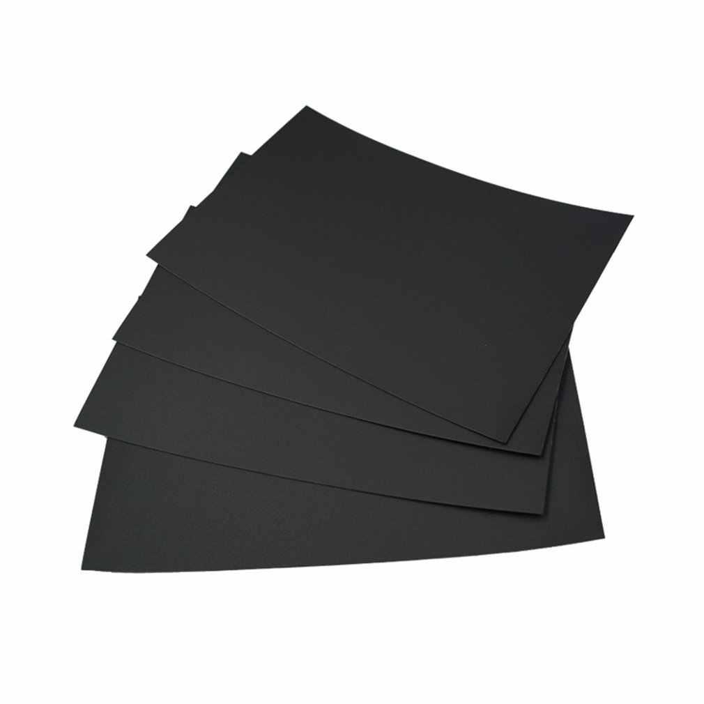 100% Baru 3D Printer Platform Stiker Aluminium Substrat Kertas Bertekstur Ukuran 300*300 Mm untuk ABS PLA Pinggul PETG PC Rett