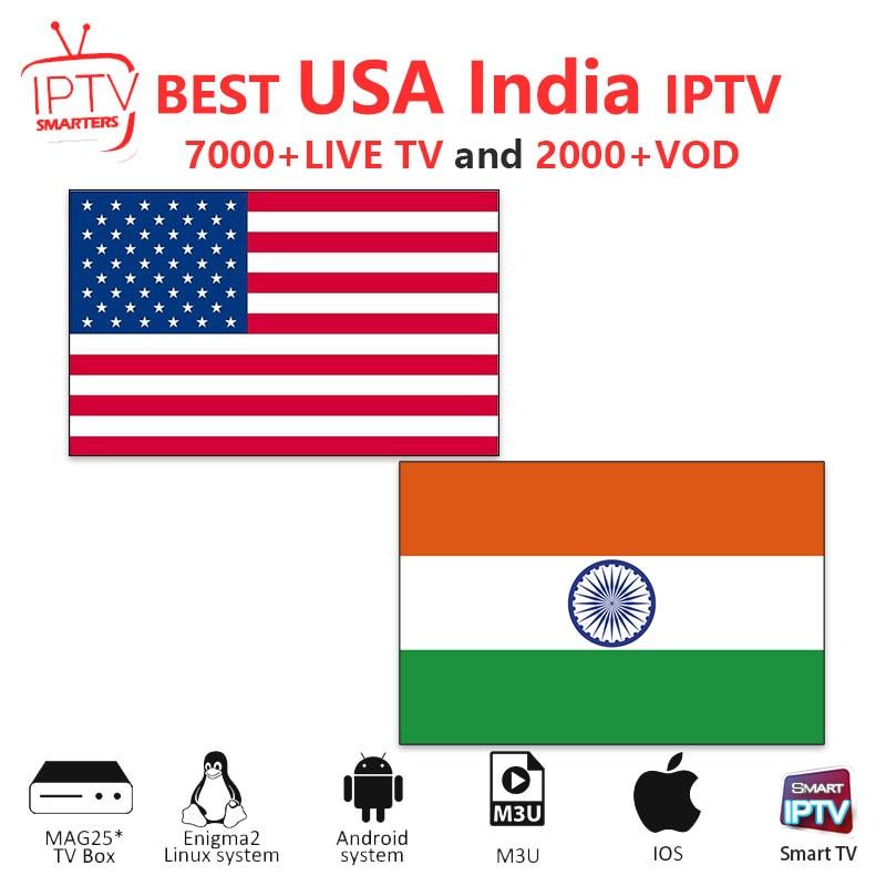 Iptv Subscription India IPTV M3U IPTV 7000+ Live HD Channels For M3u Mag Box Smart Tv USA Iptv  M3U Code Sports Adults Free Test