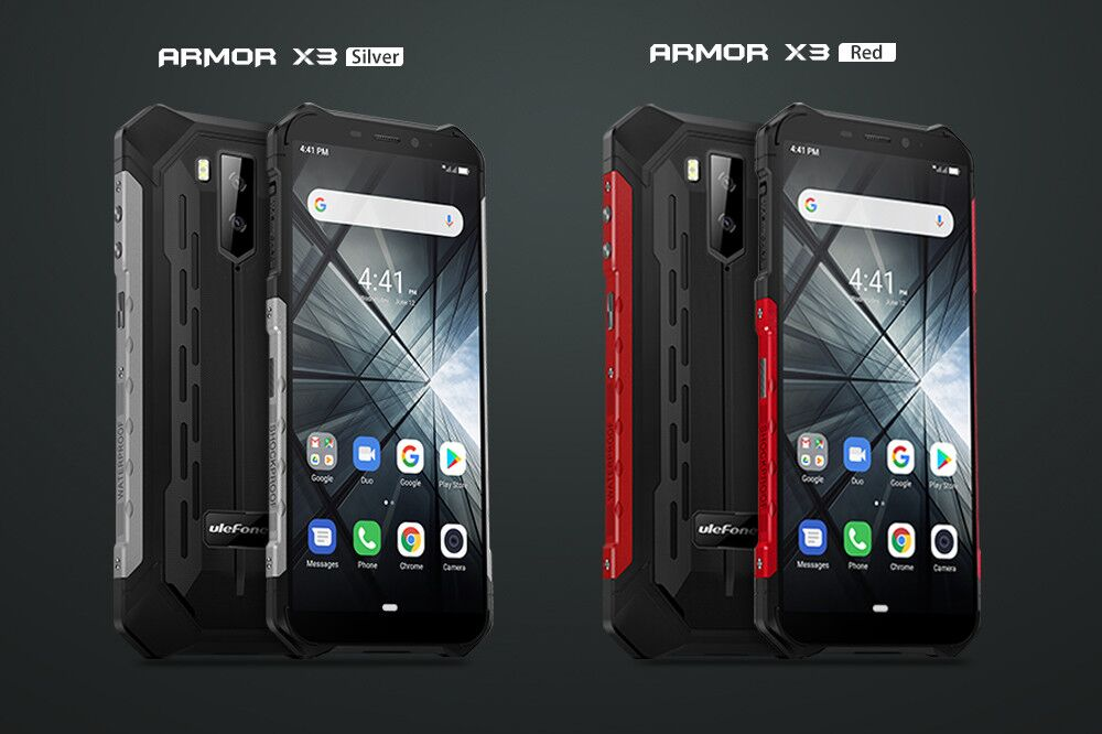 """H7aa213be0c70489880abe3c97ba3479cf Ulefone Armor X3 Rugged Smartphone Android 9.0 IP68 Android 5.5"""" 2GB 32GB 5000mAh 3G Rugged Cell Phone Mobile Phone Android"""