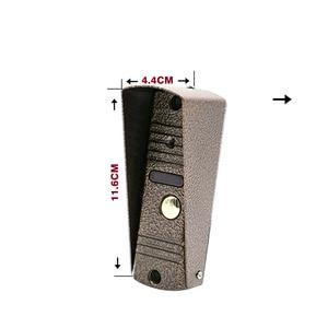 Image 4 - Homefong 7 Inch Video Cửa 1 Camera Có Dây Chuông Cửa Thu Âm Mở Khóa Cảm Biến Chuyển Động Đen/Trắng SD Thẻ Cảm Ứng nút