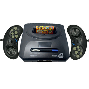 2019 New Retro Mini TV Video Game Console Controller For Sega MegaDrive MD2 16 Bit with AV output Double Wired Gamepads