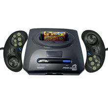 2019 Новинка Ретро Мини ТВ игровая консоль контроллер для оригинального Sega MegaDrive MD2 16 бит с AV выходом двойные Проводные геймпады